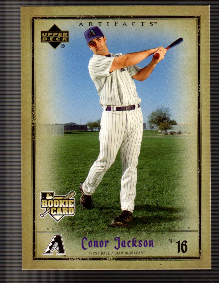 2006 Artifacts #2 Conor Jackson (RC)