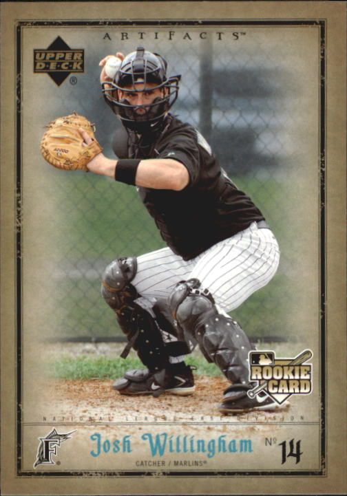 2006 Artifacts #39 Josh Willingham (RC)
