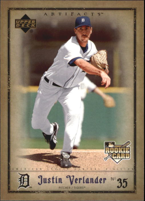 2006 Artifacts #63 Justin Verlander (RC)