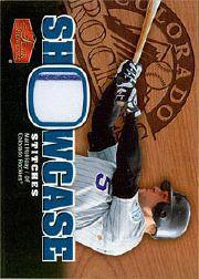 2006 Flair Showcase Stitches #MH Matt Holliday Jsy