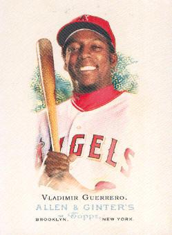 2006 Topps Allen and Ginter #9 Vladimir Guerrero