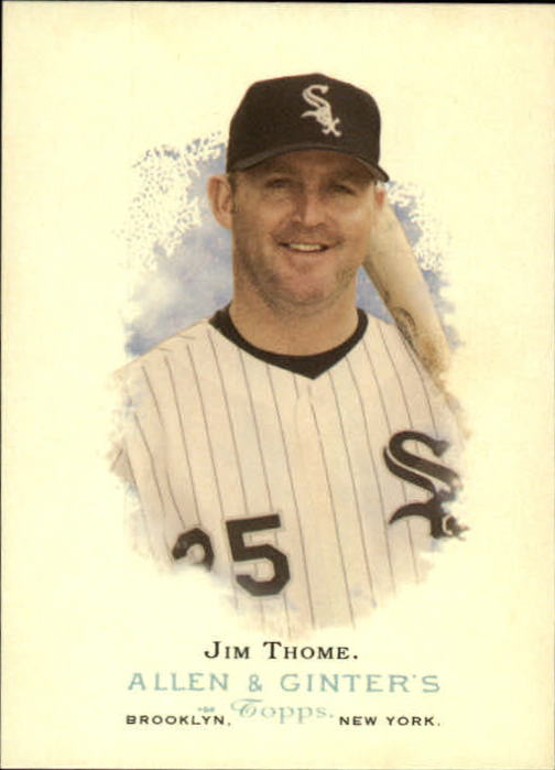 2006 Topps Allen and Ginter #14 Jim Thome