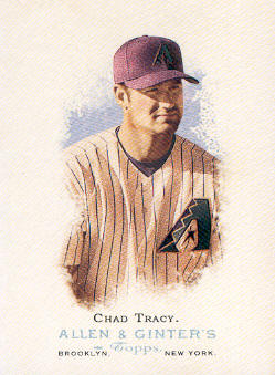 2006 Topps Allen and Ginter #22 Chad Tracy