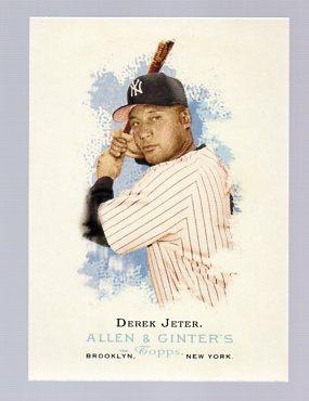 2006 Topps Allen and Ginter #23 Derek Jeter
