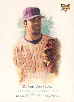 2006 Topps Allen and Ginter #24 Conor Jackson (RC)