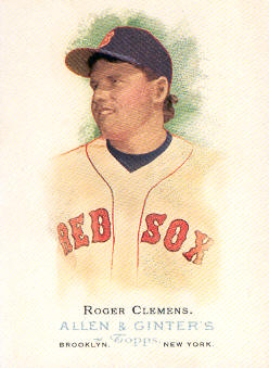 2006 Topps Allen and Ginter #104 Roger Clemens