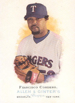 2006 Topps Allen and Ginter #177 Francisco Cordero