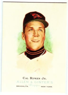 2006 Topps Allen and Ginter #290 Cal Ripken