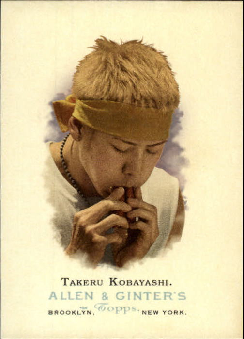 2006 Topps Allen and Ginter #312 Takeru Kobayashi