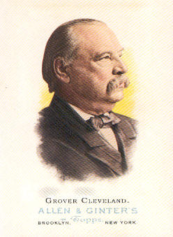 2006 Topps Allen and Ginter #329 Grover Cleveland