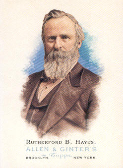 2006 Topps Allen and Ginter #332 Rutherford B. Hayes