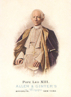 2006 Topps Allen and Ginter #336 Pope Leo XIII