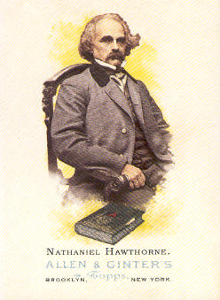 2006 Topps Allen and Ginter #340 Nathaniel Hawthorne