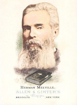 2006 Topps Allen and Ginter #341 Herman Melville