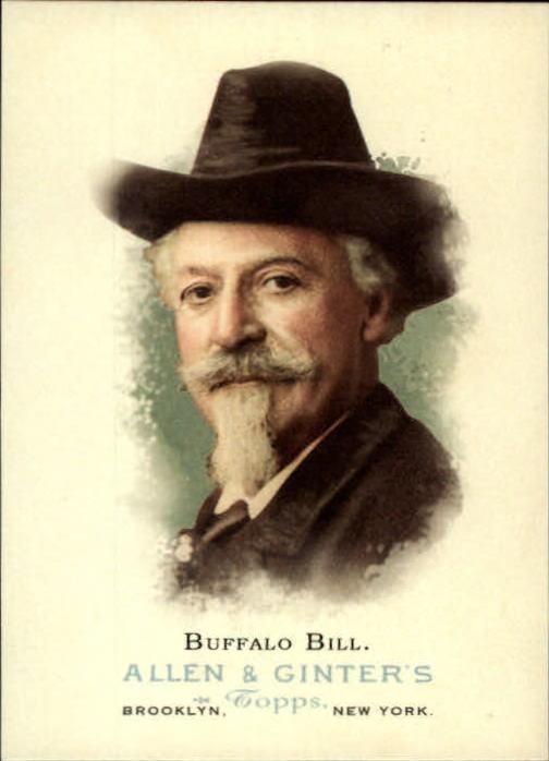 2006 Topps Allen and Ginter #348 Buffalo Bill
