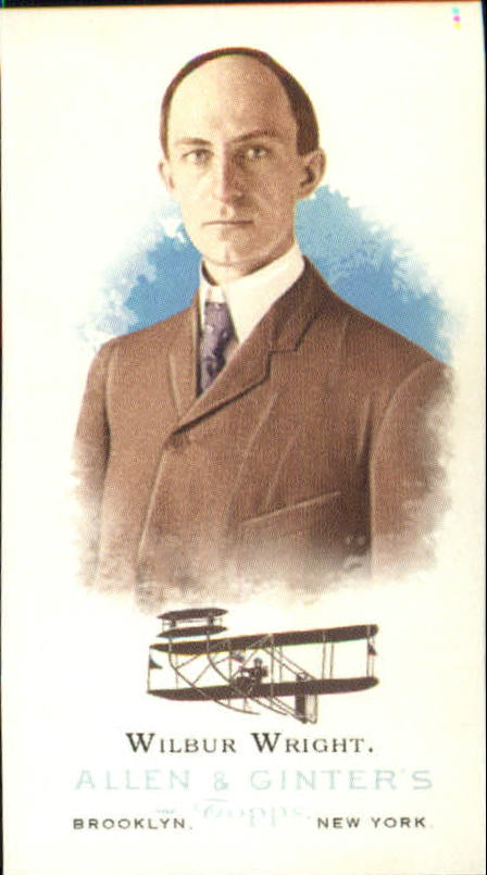 2006 Topps Allen and Ginter Mini #339 Wilbur Wright