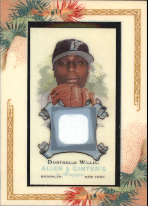 2006 Topps Allen and Ginter Relics #DWI Dontrelle Willis Jsy I