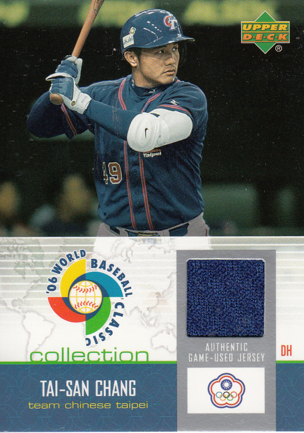 2006 Upper Deck WBC Collection Jersey #TC Tai-San Chang