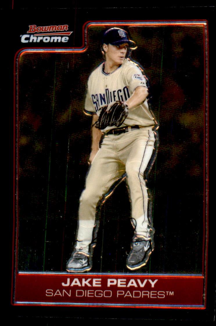 2006 Bowman Chrome #55 Jake Peavy
