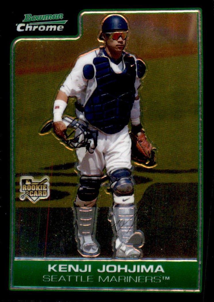 2006 Bowman Chrome #219 Kenji Johjima RC
