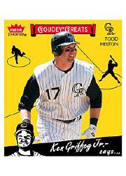 2006 Fleer Tradition 1934 Goudey Greats #GG77 Todd Helton
