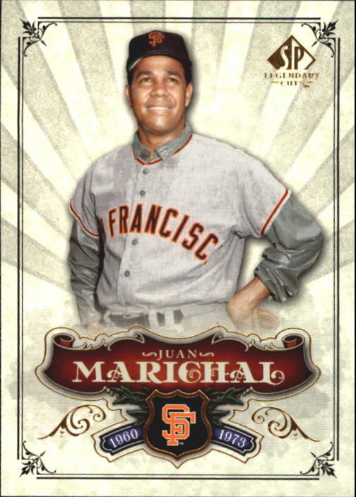 2006 SP Legendary Cuts #1 Juan Marichal