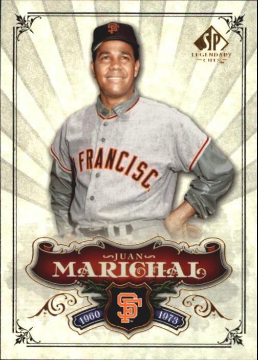 2006 SP Legendary Cuts #1 Juan Marichal