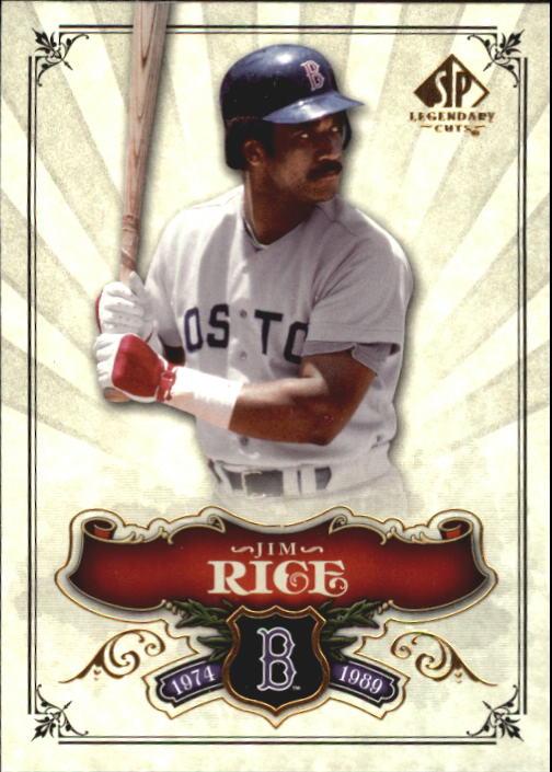 2006 SP Legendary Cuts #28 Jim Rice