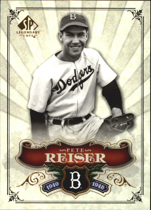2006 SP Legendary Cuts #39 Pete Reiser