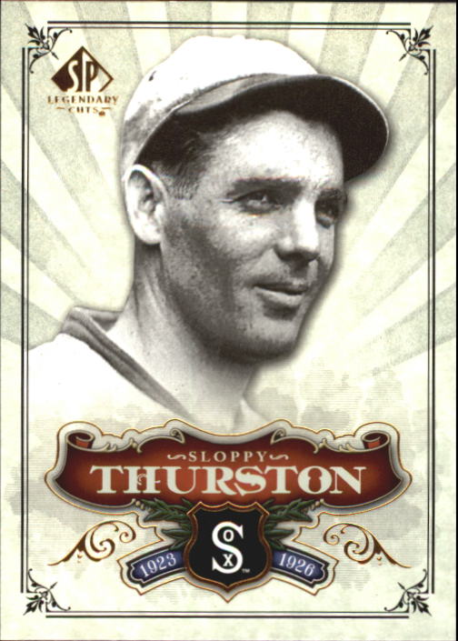 2006 SP Legendary Cuts #62 Sloppy Thurston