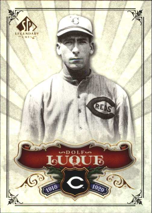 2006 SP Legendary Cuts #67 Dolf Luque