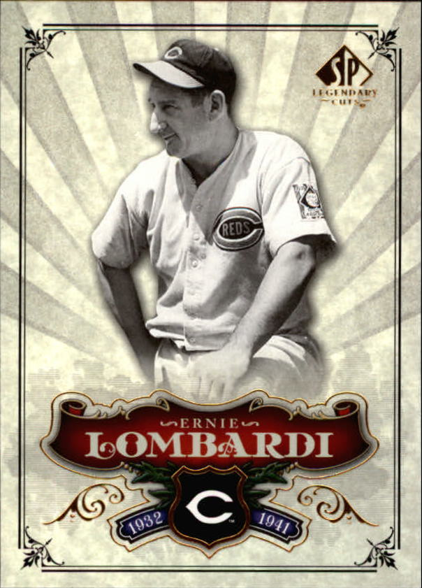 2006 SP Legendary Cuts #69 Ernie Lombardi