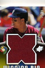 2006 SPx Winning Big Materials #VM Victor Martinez/40