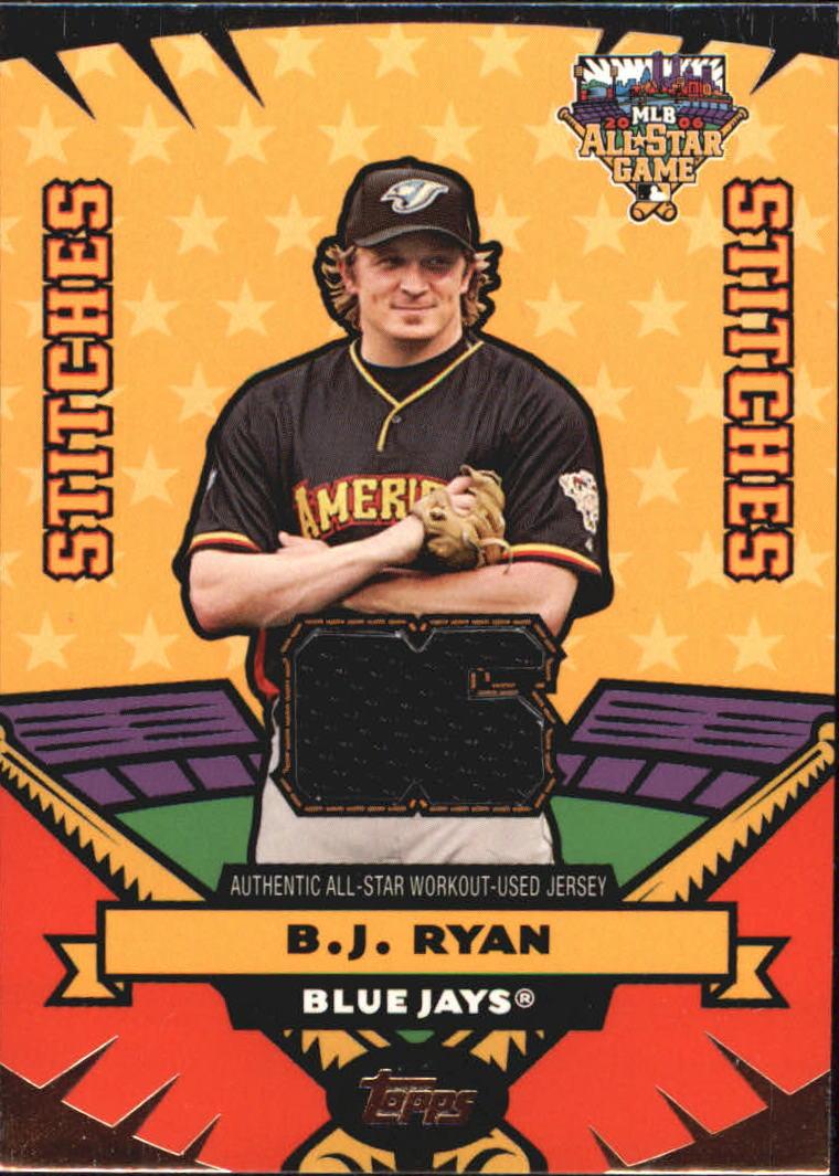 2006 Topps Update All Star Stitches #BR B.J. Ryan Jsy
