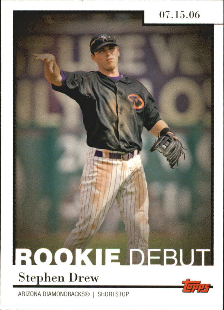 2006 Topps Update Rookie Debut #RD43 Stephen Drew