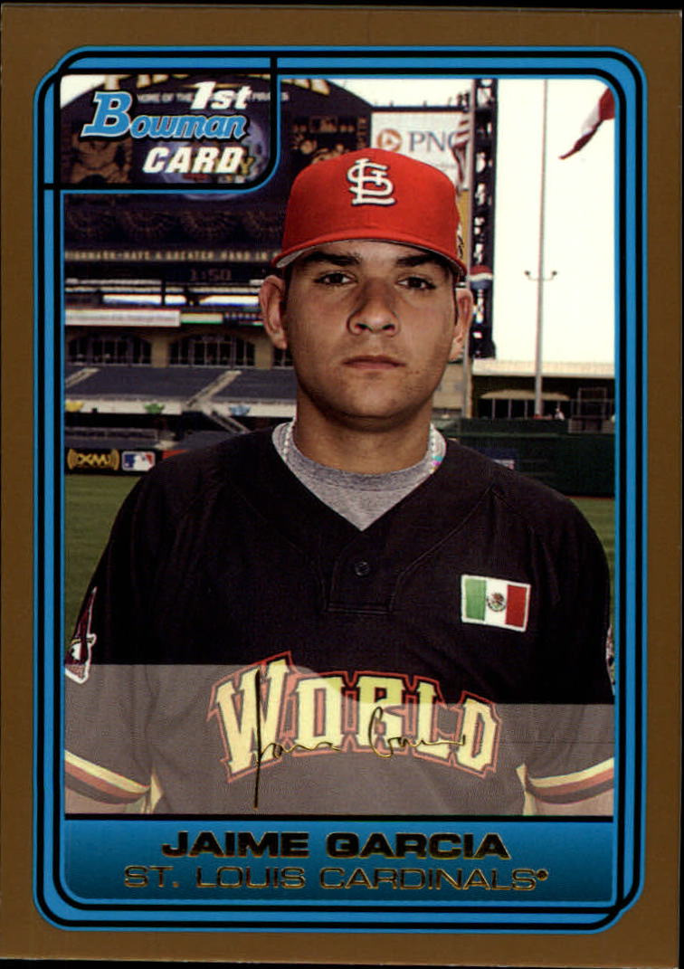 2006 Bowman Draft Future's Game Prospects Gold #44 Jaime Garcia