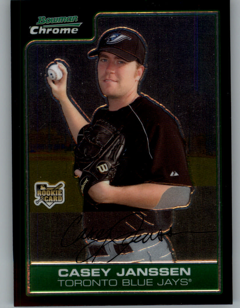 2006 Bowman Chrome Draft #26 Casey Janssen RC