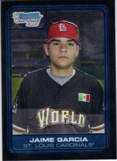 2006 Bowman Chrome Draft Future's Game Prospects #44 Jaime Garcia