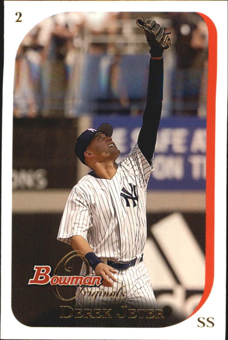 2006 Bowman Originals #2 Derek Jeter