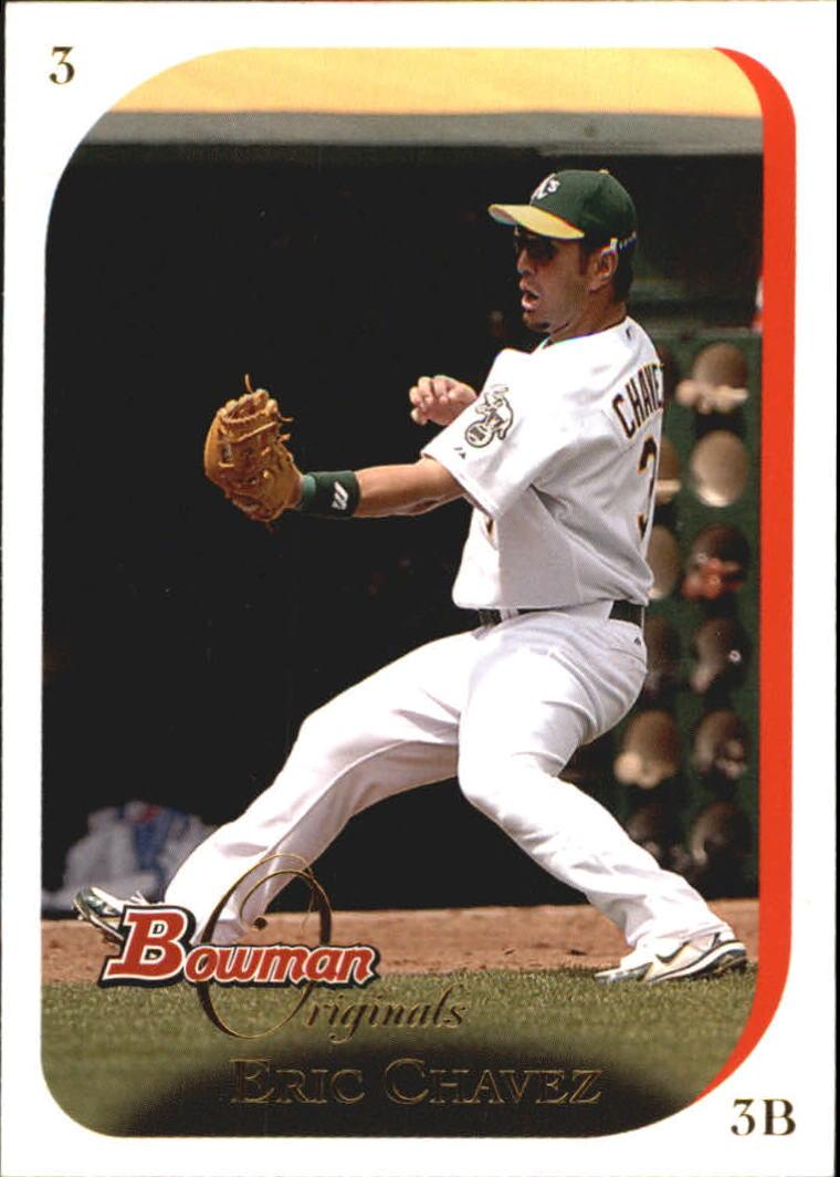 2006 Bowman Originals #3 Eric Chavez