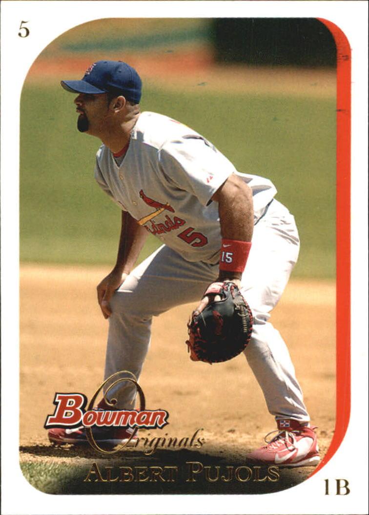 2006 Bowman Originals #5 Albert Pujols