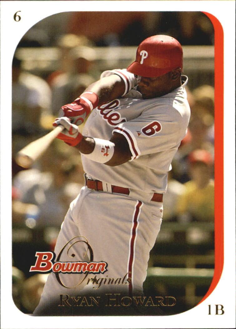 2006 Bowman Originals #6 Ryan Howard