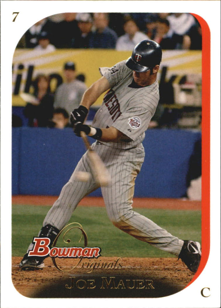 2006 Bowman Originals #7 Joe Mauer