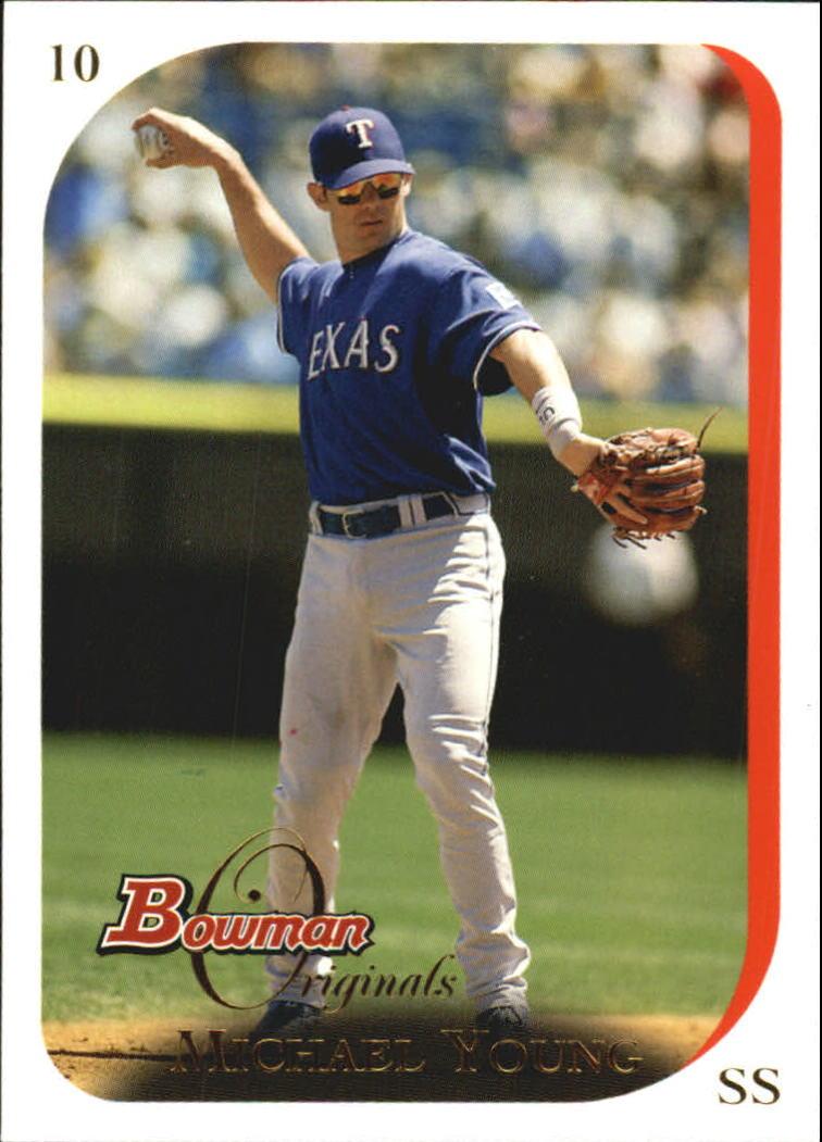 2006 Bowman Originals #10 Michael Young