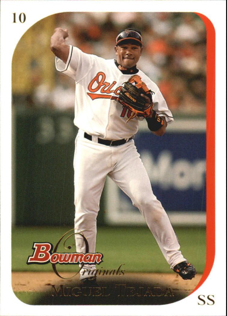 2006 Bowman Originals #11 Miguel Tejada