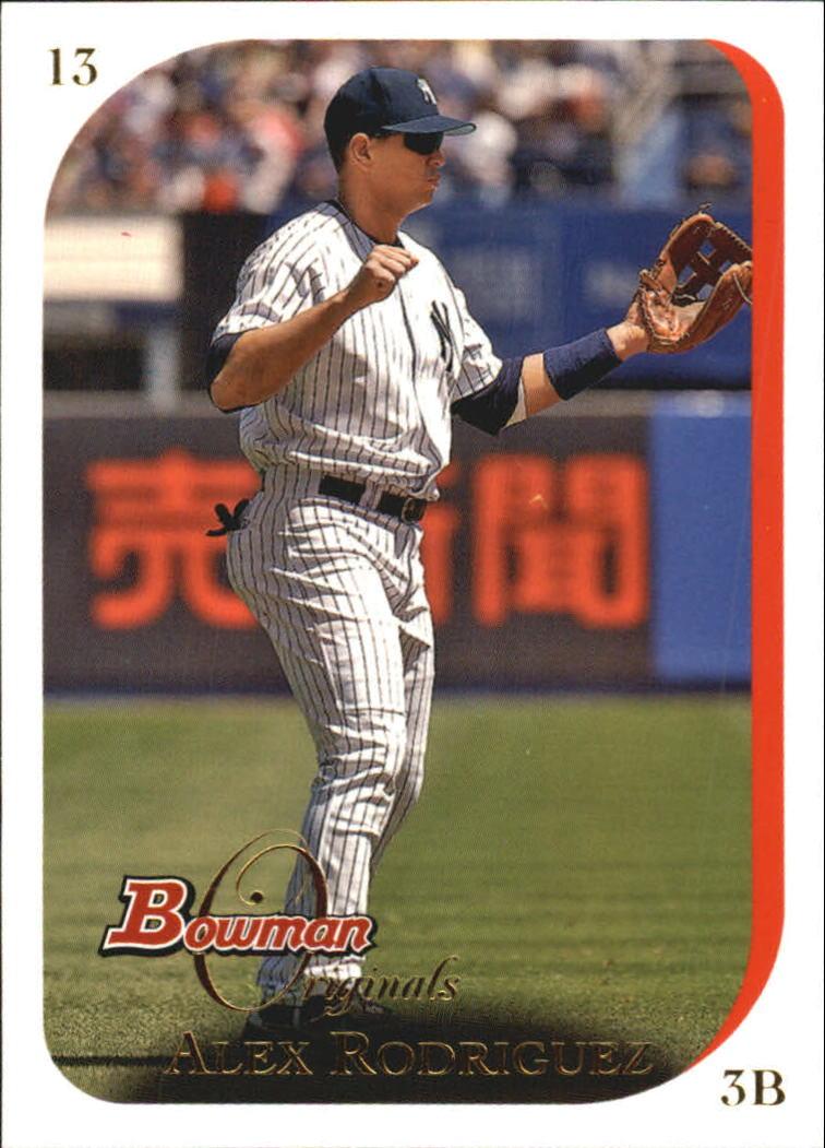 2006 Bowman Originals #13 Alex Rodriguez