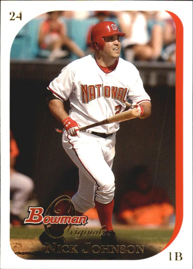 2006 Bowman Originals #16 Nick Johnson