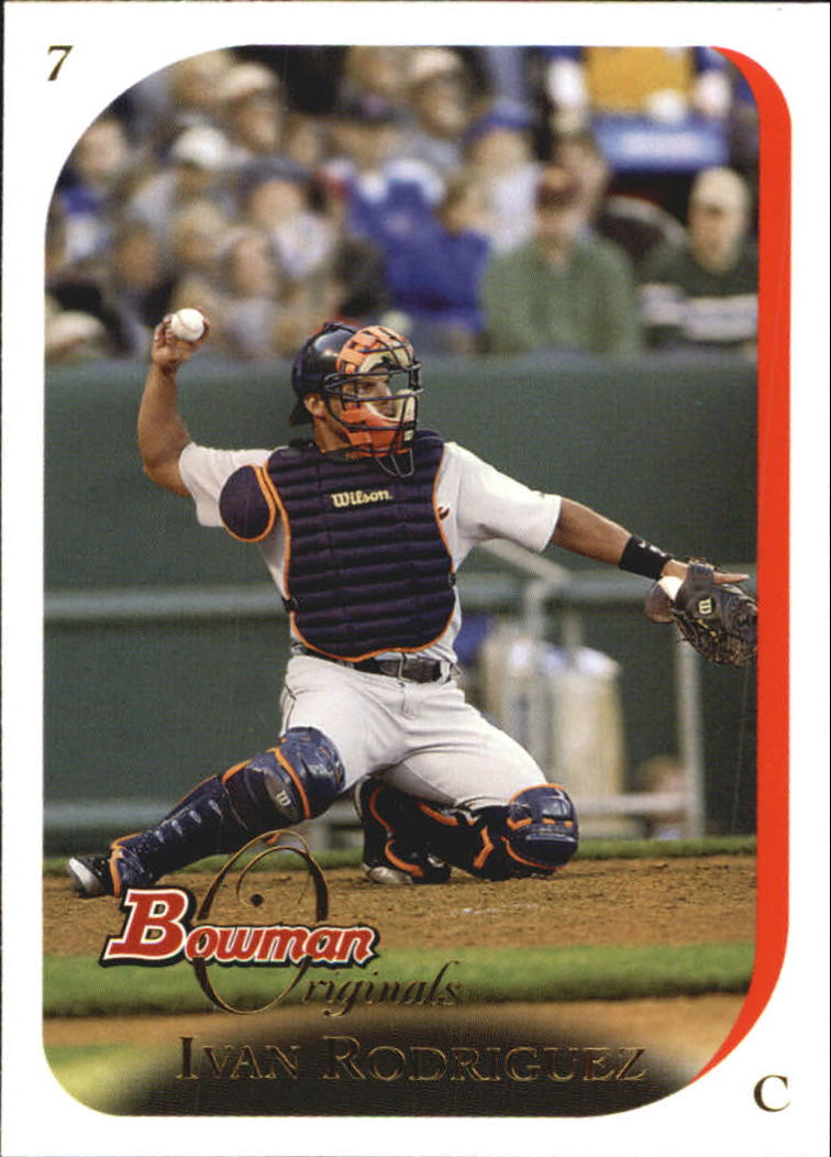 2006 Bowman Originals #18 Ivan Rodriguez