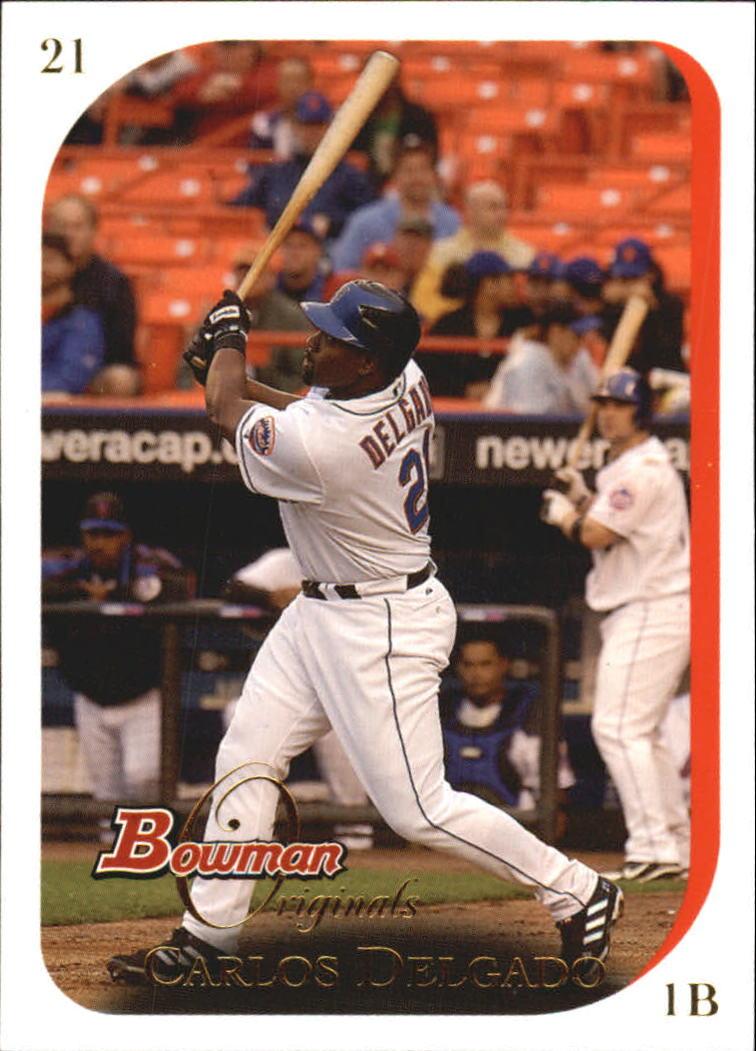2006 Bowman Originals #21 Carlos Delgado