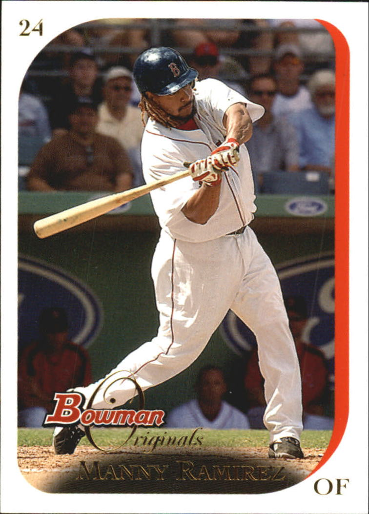 2006 Bowman Originals #24 Manny Ramirez